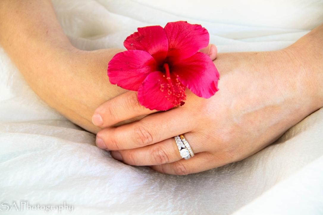 Flower Ring Closeup